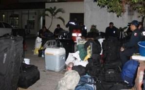 Elementos de la policía Federal denuncian falta de pagos en…
