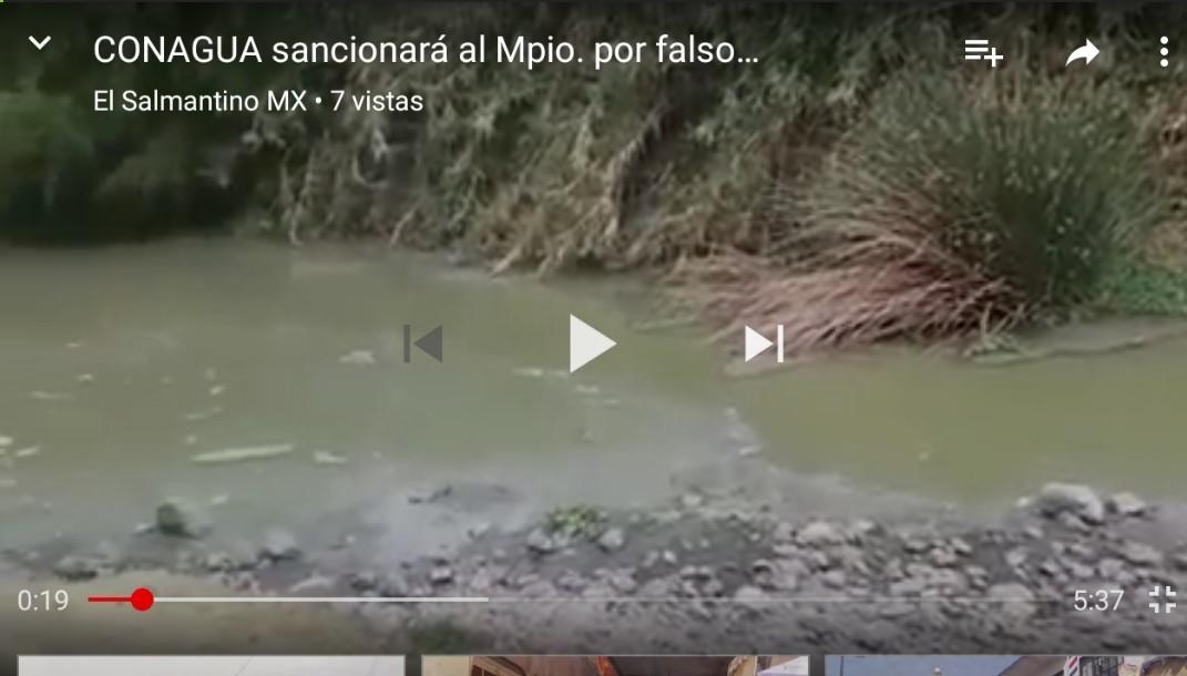 CONAGUA MULTA AL MUNICIPIO DE SALAMANCA POR OPERACIÓN IRREGULAR DE ...