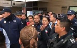 Policías municipales de Celaya en paro, exigen renuncia del director…