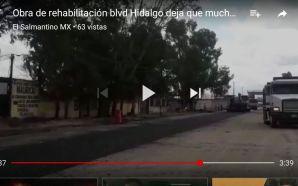 BACHES EN CARRILES RECIEN ASFALTADOS, EVIDENCIA MALA PLANEACION Y CALIDAD…