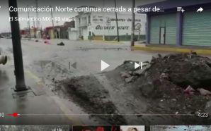 URGEN APERTURA DE LA 2DA ETAPA DE COMUNICACIÓN NORTE