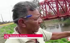 REMIGIO ACOSTA ES AFORADOR DEL RIO LERMA DESDE HACE 45…