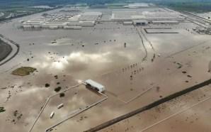 Honda reanuda parcialmente actividades tras inundación
