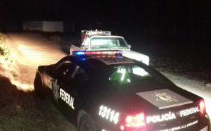 Elementos de policía federal aseguran hidrocarburo y recuperan tracto camión…