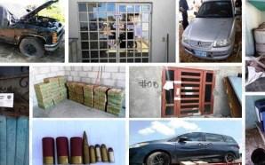 Catean 3 domicilios en Irapuato, recuperan toneladas de mercancía robada