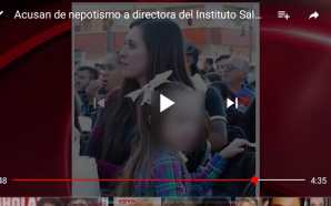 """ACUSAN A DIRECTORA DE """"INSADIS"""" DE FAVORECER A FAMILIARES EN…"""