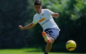Felipe Mora quiere ser el hombre gol de Pumas
