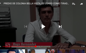 TIRADERO DE DESECHOS, CREA FOCO DE INFECCIÓN EN COLONIA BELLAVISTA