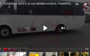 ACCIDENTE SACA A RELUCIR ANOMALIAS Y ALTO RIESGO EN EL…