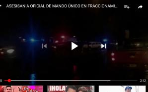 MUESTRA BEATRIZ HERNÁNDEZ SU POSTURA, ANTE EL ASESINATO DE ELEMENTO…