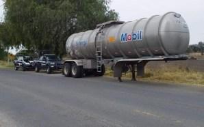 Hallan pipa de gasolina vacía en Celaya