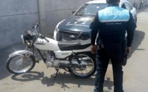 ASEGURA MANDO ÚNICO MOTOCICLETA CON ALTERACIÓN DE NÚMERO DE IDENTIFICACIÓN…