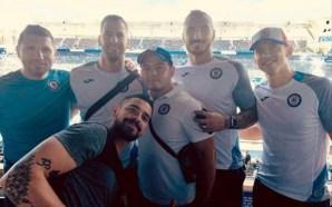 Cruz Azul asistió al juego de pretemporada Chargers vs Saints