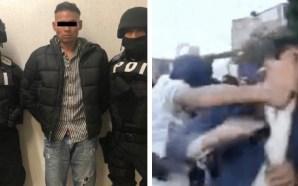 DETIENEN A «EL CHUPAS», SUJETO QUE GOLPEÓ A REPORTERO EN…