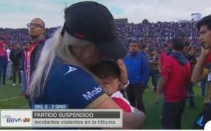 La violencia se apodera del San Luis-Querétaro y suspenden el…