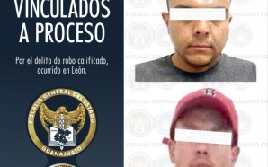 APREHENDE FISCALÍA A DOS ASALTANTES QUE ROBARON CAMIONETA CON VIOLENCIA.