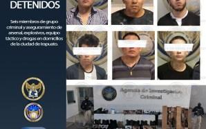 #Irapuato ASEGURAN CASAS DE SEGURIDAD Y DETIENEN A 6 PERSONAS…