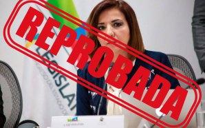 BEATRIZ HERNÁNDEZ SIN APROBACIÓN CIUDADANA, CON SOLO 14.2% OCUPA EL…