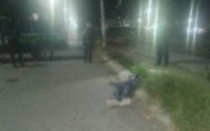 HOMICIDIO NÚMERO 24 SE REGISTRA LA MADRUGADA DE ESTE JUEVES…
