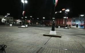 CENTRO HISTÓRICO LUCIÓ VACÍO EN FIESTAS PATRIAS.
