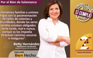 Se aprueba lamentable segundo informe de gobierno de Beatriz Hernández.