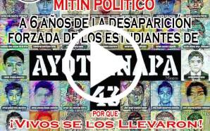 MIEMBROS DE CNTE REALIZARON MITIN POLITICO EN EL JARDIN PRINCIPAL.