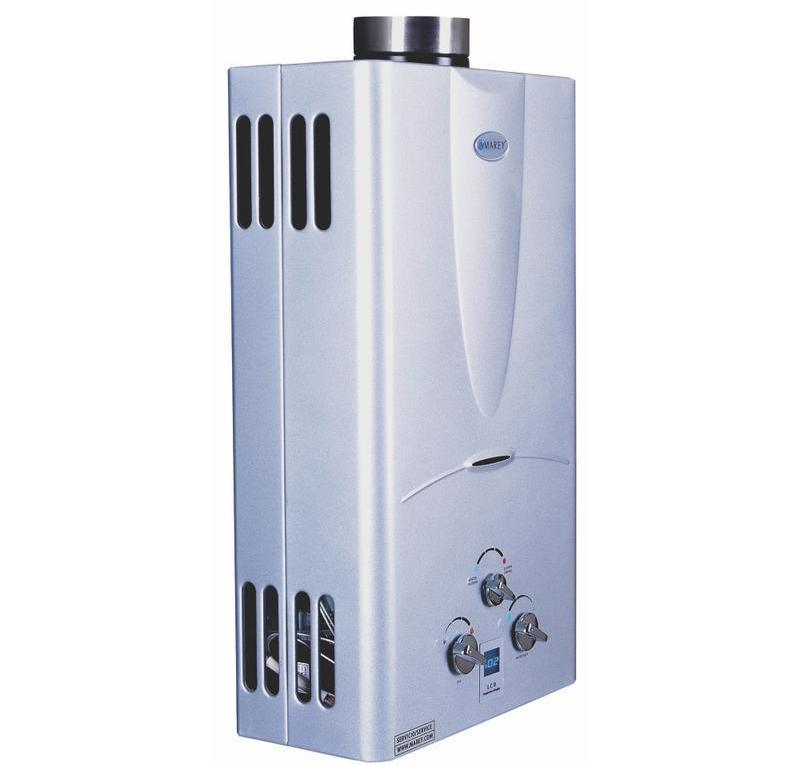 digital gas water heater