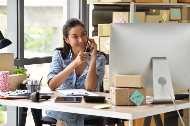 aspiring entrepreneur multitasking
