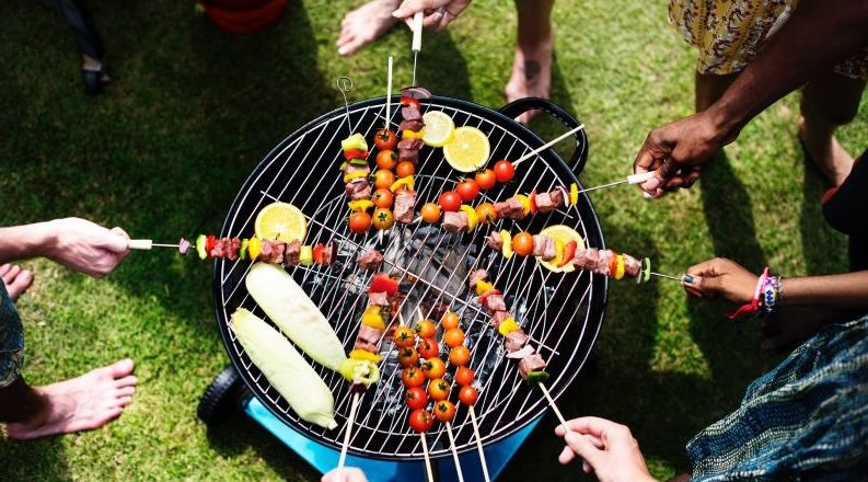 ideas backyard barbecue