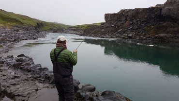 Fishing in Iceland for salmon and trout