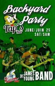 tapsBackYardParty