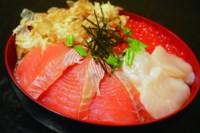 しべつ鮭三代漬け丼セット