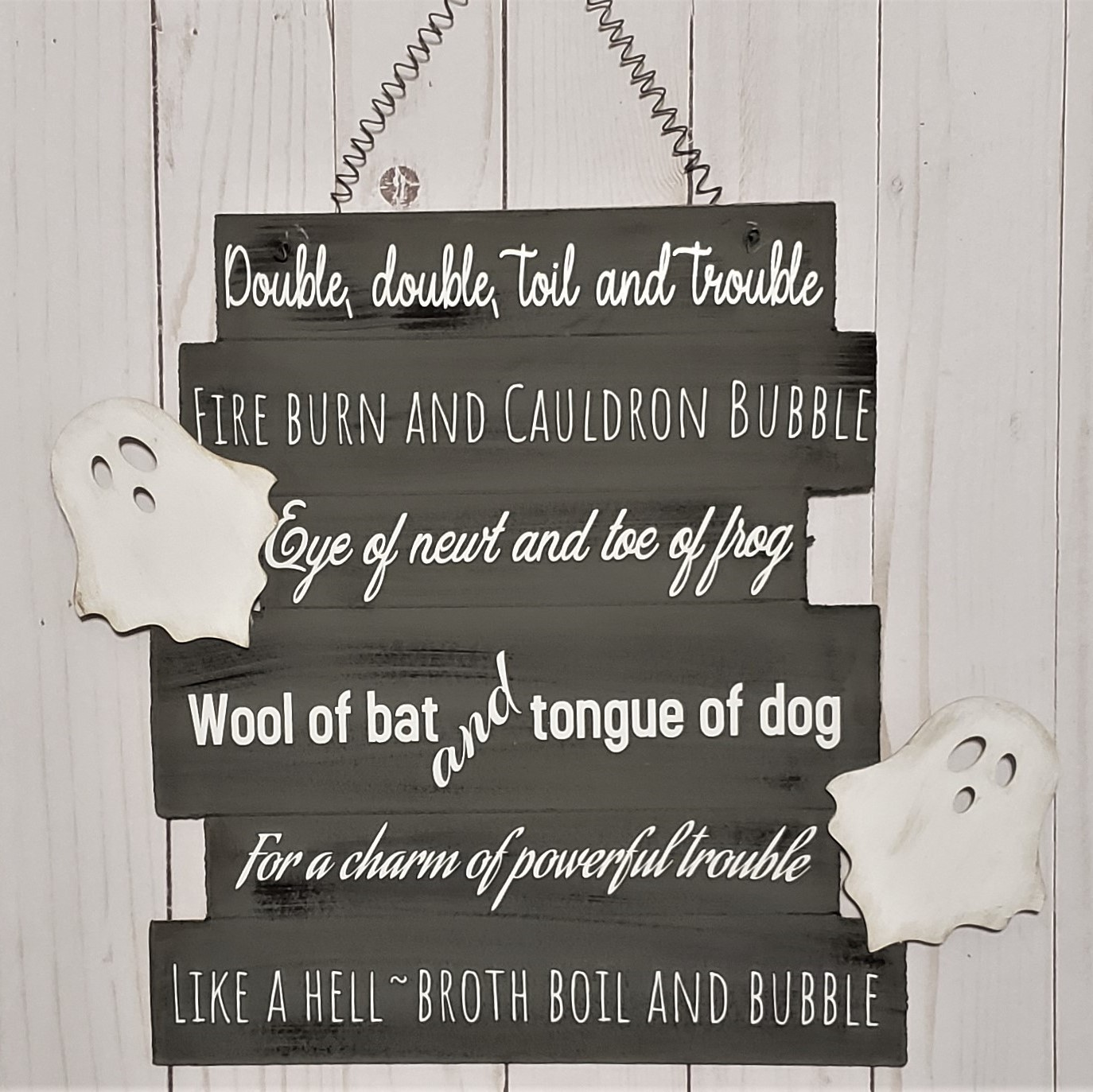 Rustic Gift for Her Altar Primitive, Goth Shakespeare Valentines Day Literary Quote Love Witchcraft Sign Witch Book Nerd