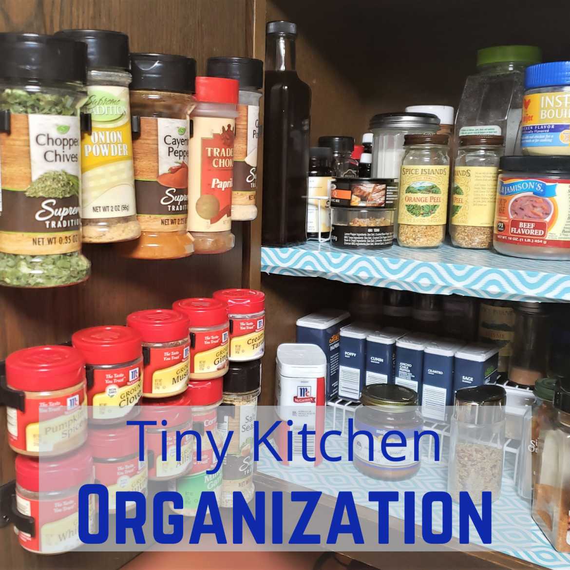 Tiny Kitchen Organization