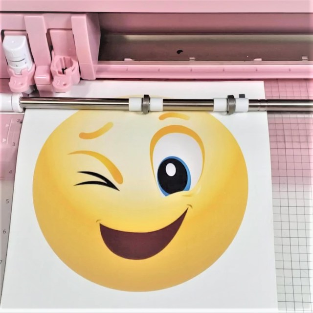 silhouette cameo 4 print and scan emoji