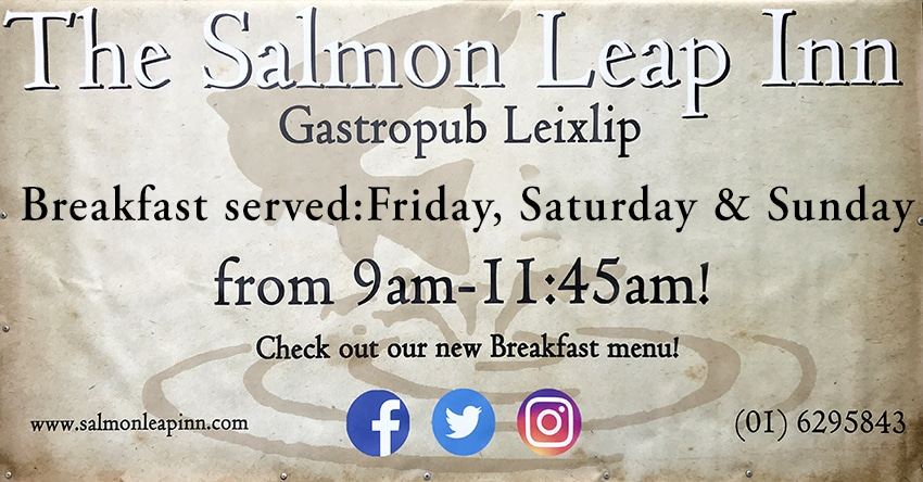Breakfast at The Salmon Leap