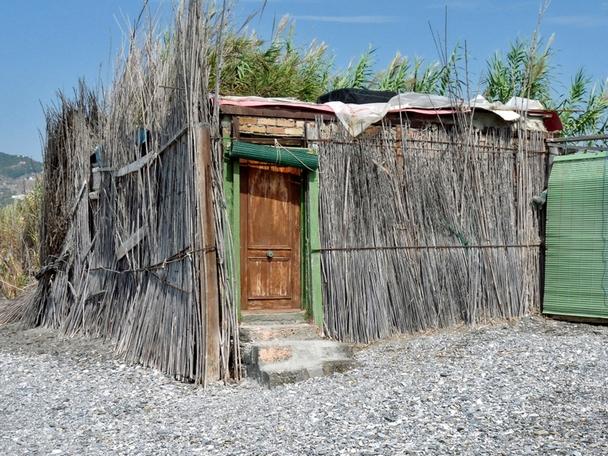 The curious shanty town behind la caleta