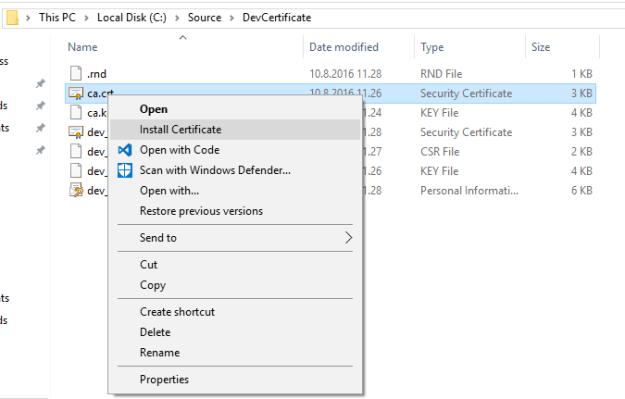 SSL_ExplorerCA