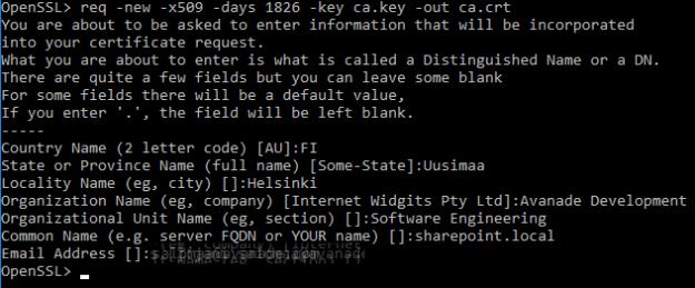 SSL_OpenSSLCAReq