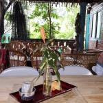 Salomavillagestay tree house dining room view in the heart of the Borneo jungle