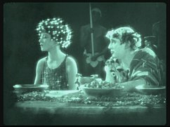 Salomé (Nazimova) and Herod (Mitchell Lewis)