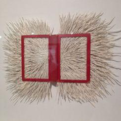 Sirenum Scopuli I . altered book . Barbara Wildenboer