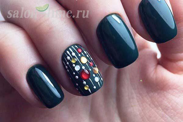 дизайн ногтей с камифубиками 1
