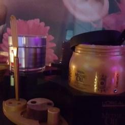 Soins Mythic Oil de L'Oréal Professionel pour le massage du cuir chevelu