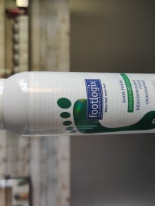 Footlogix shoe fresh deo spray
