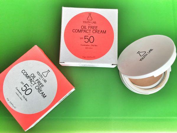 Compact cream Spf50