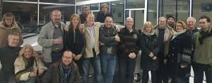 Photo de la réunion du 2 décembre 2017, avant que tout le monde ne soit parti.