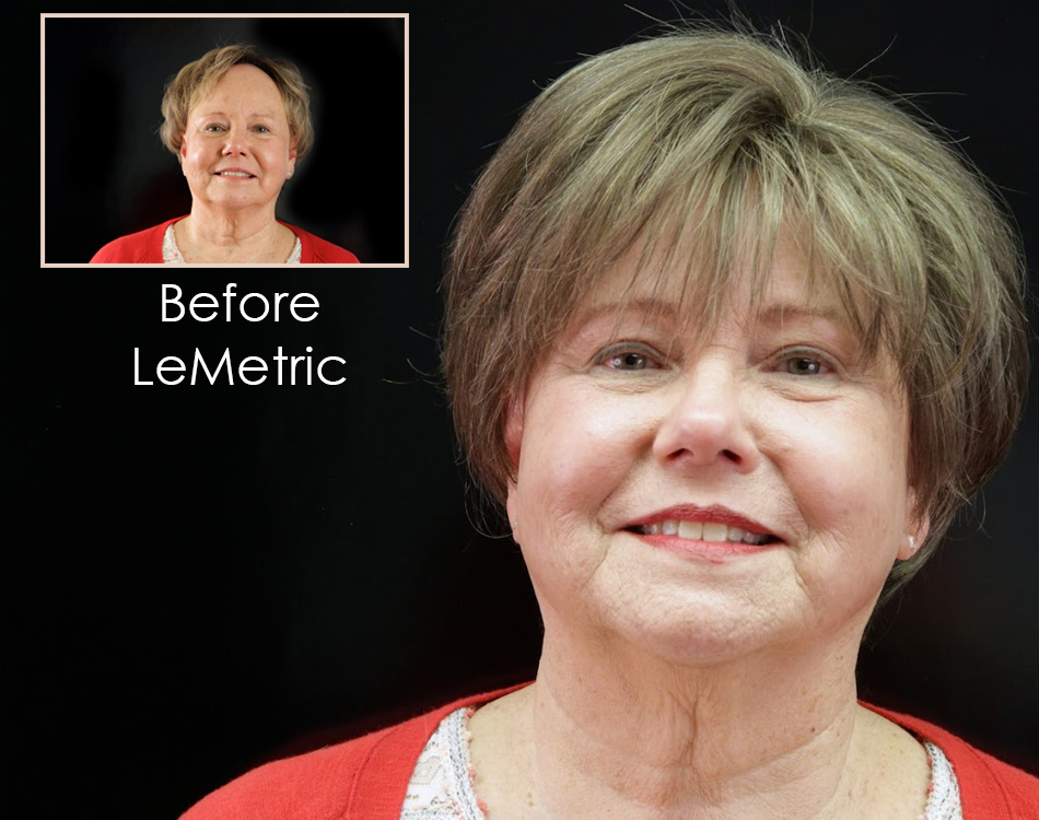 Wig and Hairpiece Hair Makeover | LeMetric.com