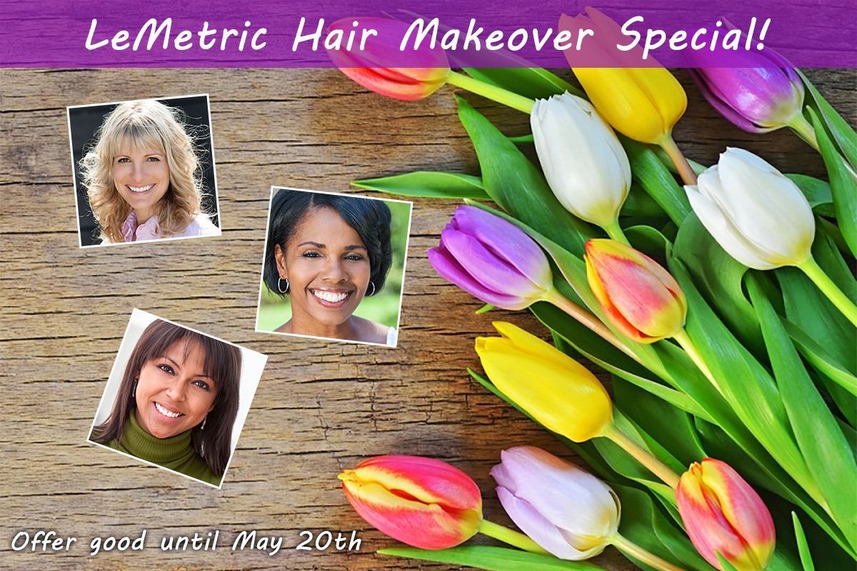 Mother's Day Hair Makeover | LeMetric.com