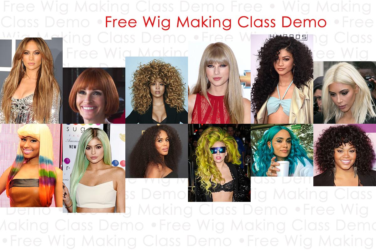 Free NYC Wig Making Class Demo   LeMetric.com